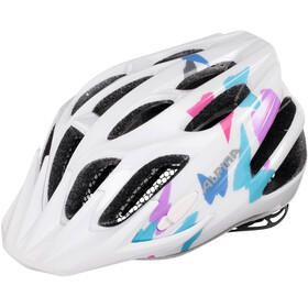 Alpina FB Jr. 2.0 - Casque de vélo Enfant - blanc/Multicolore